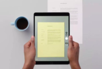 Cara Scan Dokumen di iPhone dan iPad