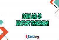 Download GB Whatsapp Transparan