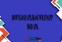 Download Aplikasi Whatsapp Mod APK